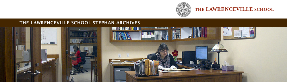 Exhibits | The Lawrenceville School Stephan Archives