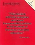 1985 Lawrentian cover
