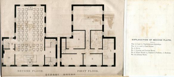 1852 School House Plan